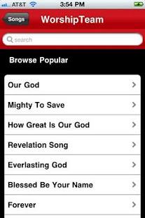 WorshipTeam.com- screenshot thumbnail