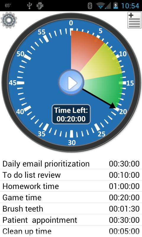 Activity Timer - Productivity- screenshot