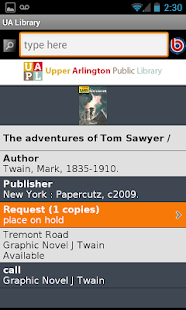 Upper Arlington Public Library - screenshot thumbnail