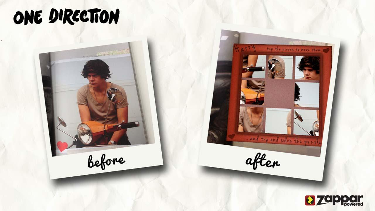 One Direction Picture Book- screenshot