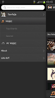Screenshot of H MUSIC