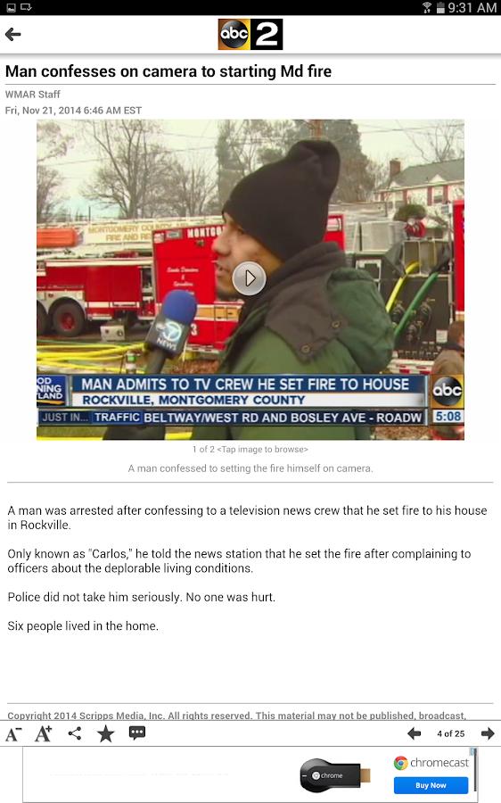 WMAR ABC2 News Baltimore - screenshot