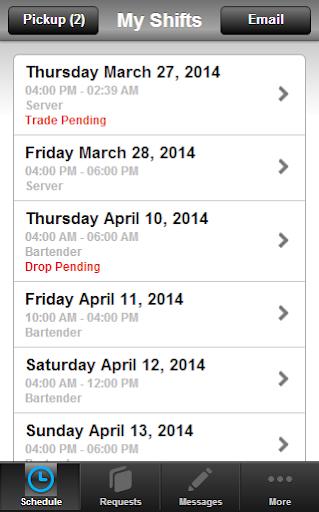 Runfido Scheduling