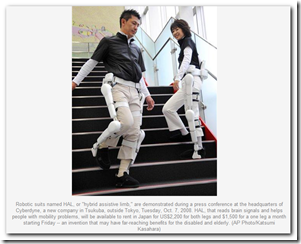 Robot suit for rent in Japan to help people walk - Medical Quack