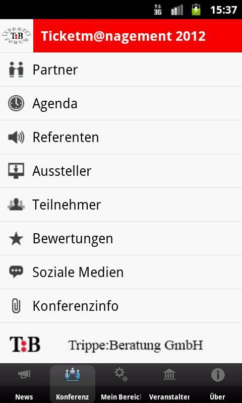 TBKonferenz- screenshot