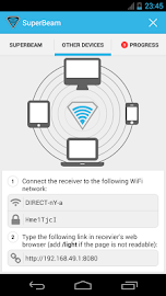 SuperBeam | WiFi Direct Share Screenshot 5