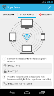 SuperBeam | WiFi Direct Share - screenshot thumbnail