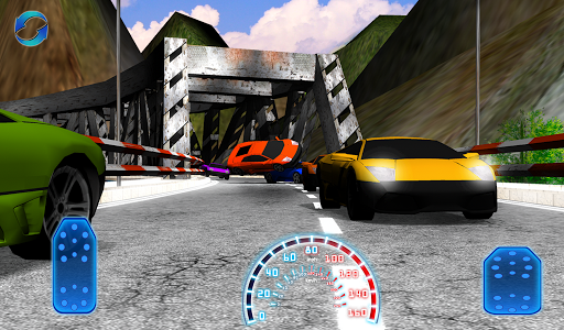 3D賽車山丘