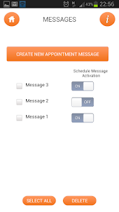 SMS Appointment Keeper Screenshot