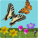 C.Butterfly spring flower free icon