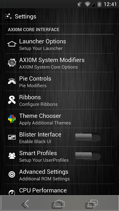Polished Theme Chooser AOKP/CM - screenshot