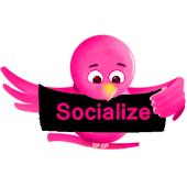 Pink Socialize for Twitter
