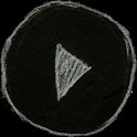 Poweramp Blackboard Skin icon