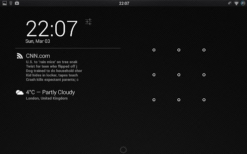 DashClock RSS Viewer Extension - screenshot thumbnail