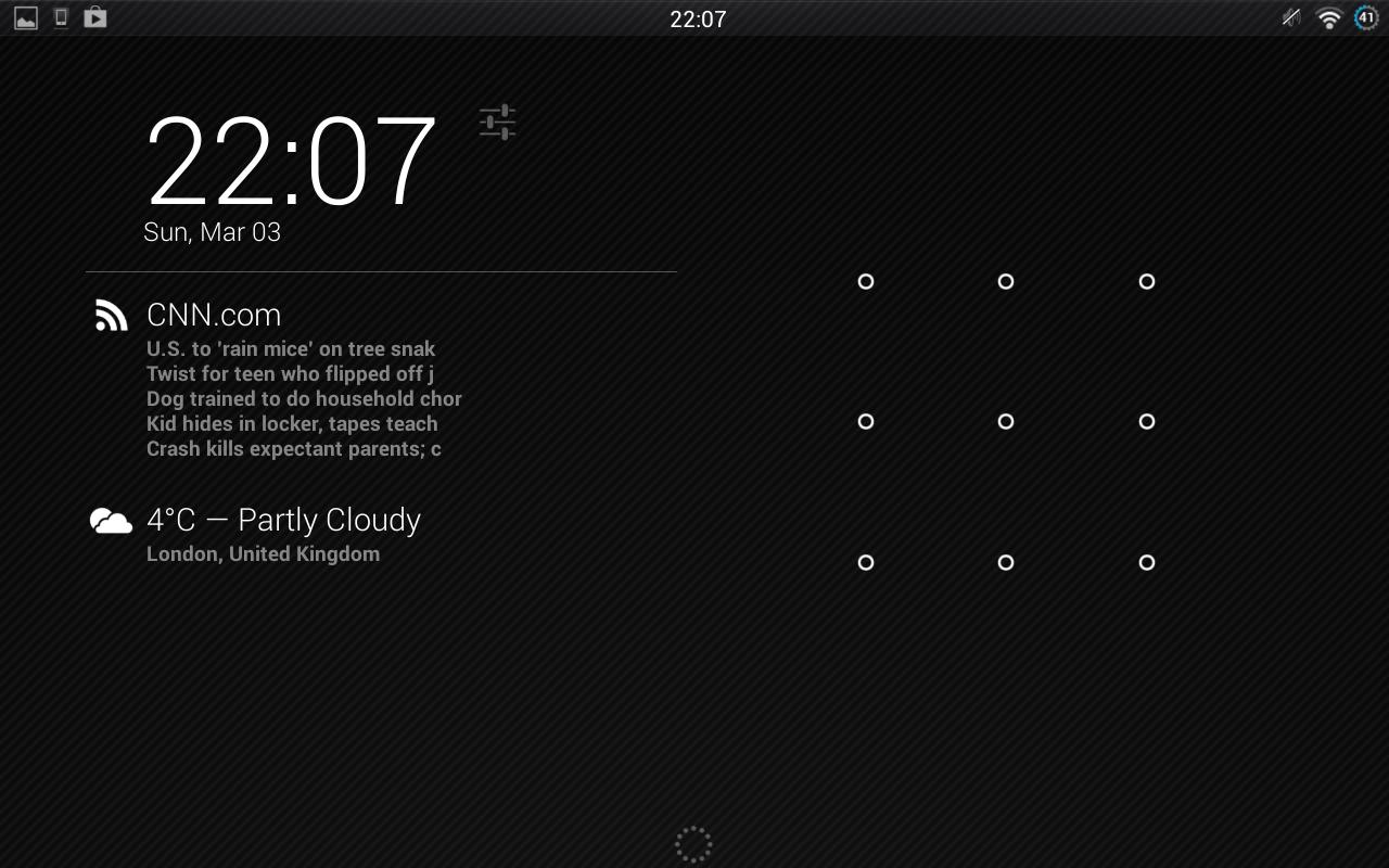 DashClock RSS Viewer Extension - screenshot