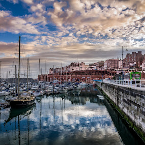 Ramsgate Habour by Charles Ong - Transportation Boats (  )