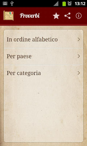 Proverbi e detti italiani