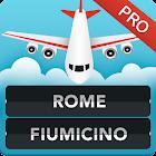 FLIGHTS Rome Fiumicino Pro icon