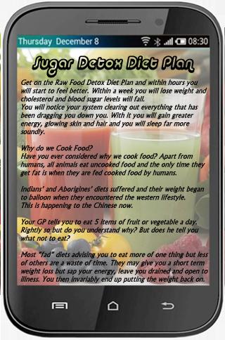 Sugar Detox Diet Plan