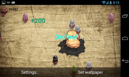 Blow Them All Live Wallpaper Screenshot 2