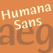 Humana Sans ITC FlipFont