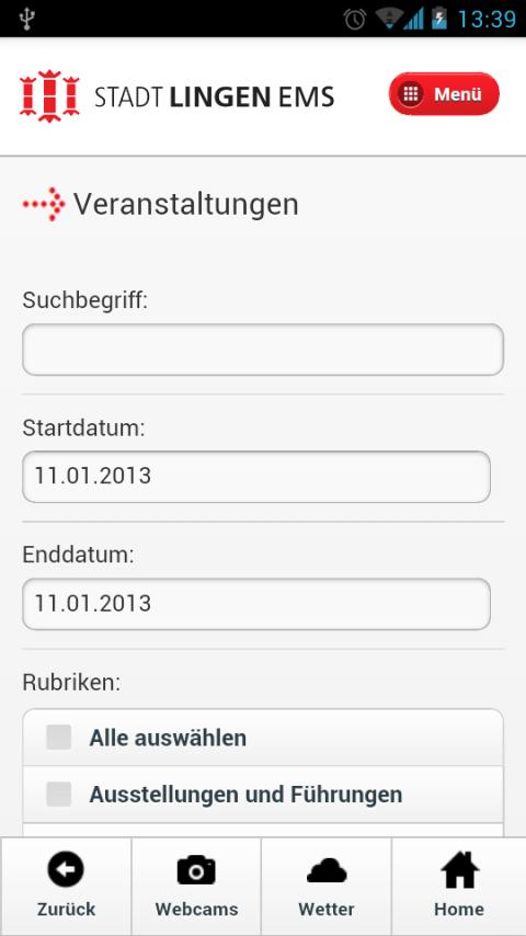 LinApp- screenshot