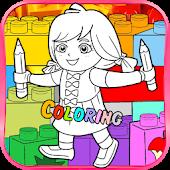 Dora The Lego Coloring