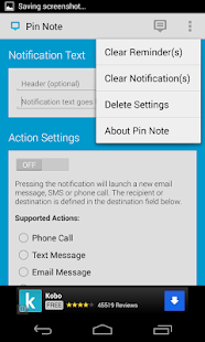 Pin Note: Custom Notifications- screenshot thumbnail