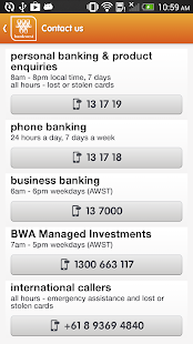Bankwest - screenshot thumbnail