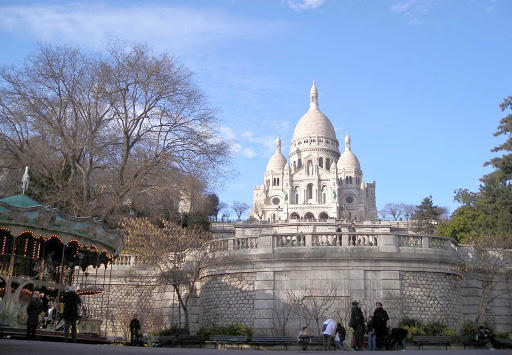 sacre-coeur-paris-france - Sacre Coeur in Paris, France.