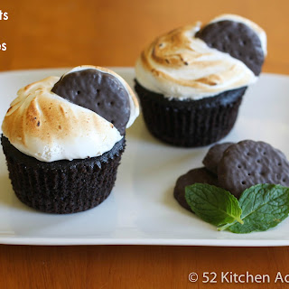 Thin Mints S'mores Cupcakes