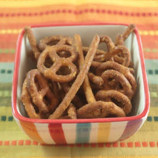 Homemade Honey Mustard Pretzels.