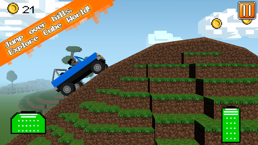 Cube Jeep: Hill Race