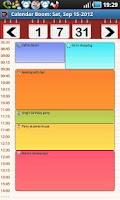 Screenshot of Business Calendar Boom Pro