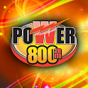 Power 800 logo