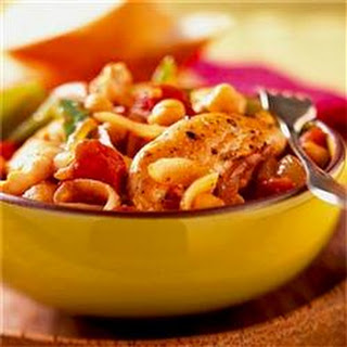 Leah's Chicken with Chickpeas.