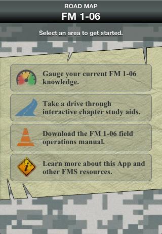 FM 1-06 Road Map