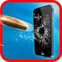 Gun Shooting-Broken Screen icon