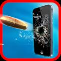 Gun Shooting-Broken Screen icon