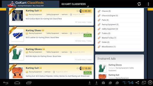 【免費購物App】GoKart Classifieds-APP點子