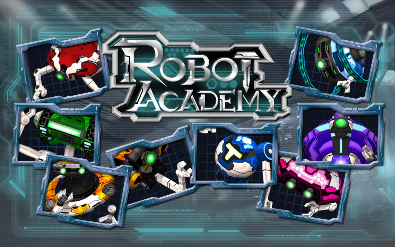Robot Academy- screenshot