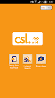 Screenshot of csl Wi-Fi