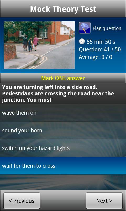 Driving Theory Test - UK Car - screenshot
