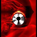 GO Locker тему Red Fire icon