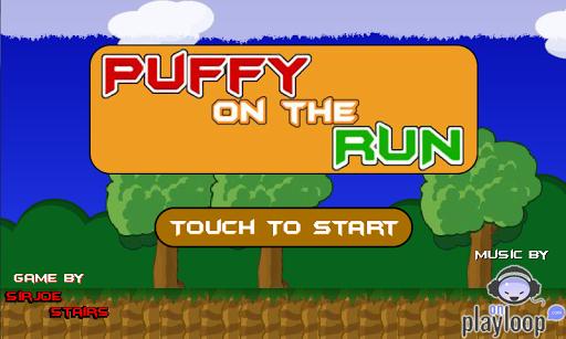 Puffy on the run