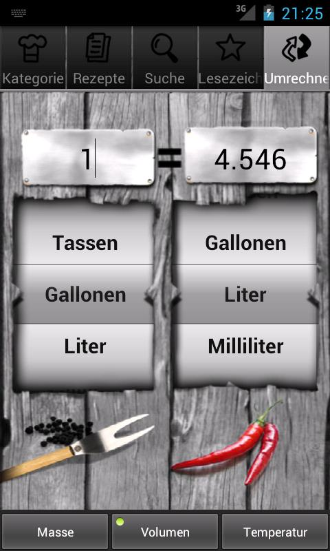 Grillrezepte- screenshot