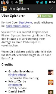 Spickerrr (Piraten Anträge) - screenshot thumbnail