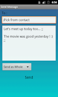 Screenshot of Multi Messaging