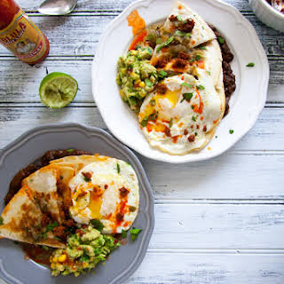 Chorizo Quesadilla Huevos Rancheros.