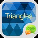Triangles GO SMS icon